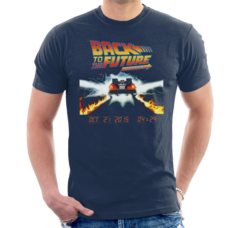Back To The Future Count Down Men's T-Shirt by Acepress - Cloud City 7