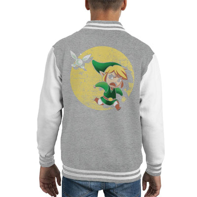 Legend Of Zelda Adventures Of Tin Tin Kid's Varsity Jacket by BlancaVidal - Cloud City 7