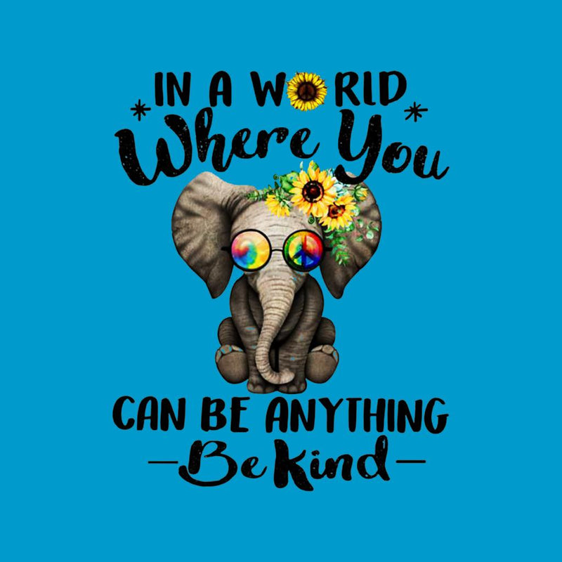 f64630089 ... In A World Where You Can Be Anything Be Kind Men's T-Shirt by Nathan ...