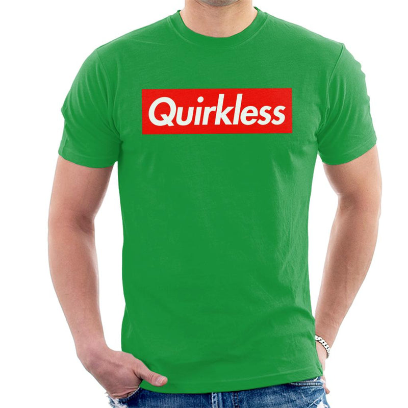 Quirkless Skate Logo My Hero Academia Men's T-Shirt by zerobriant - Cloud City 7