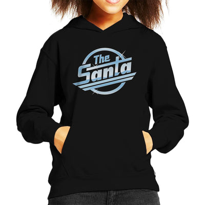 Santa The Strokes Kid's Hooded Sweatshirt by anneliarmo - Cloud City 7