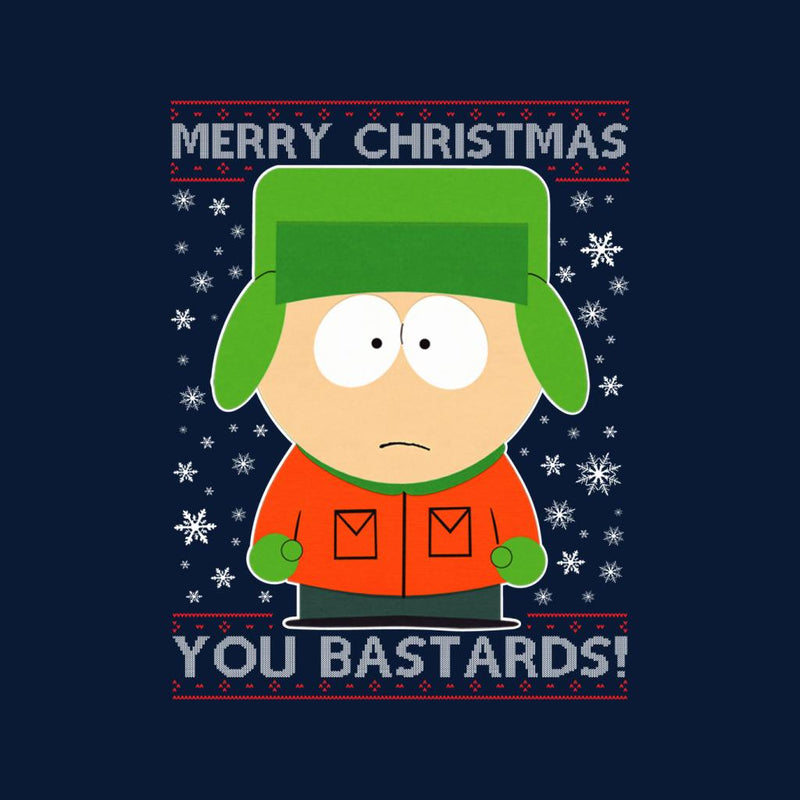 South Park Christmas.South Park Kyle Merry Christmas You Bastards Knit Pattern Men S T Shirt