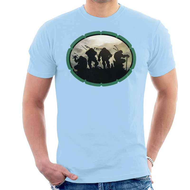 Teenage Mutant Ninja Turtles Shell Men's T-Shirt by Nykos - Cloud City 7
