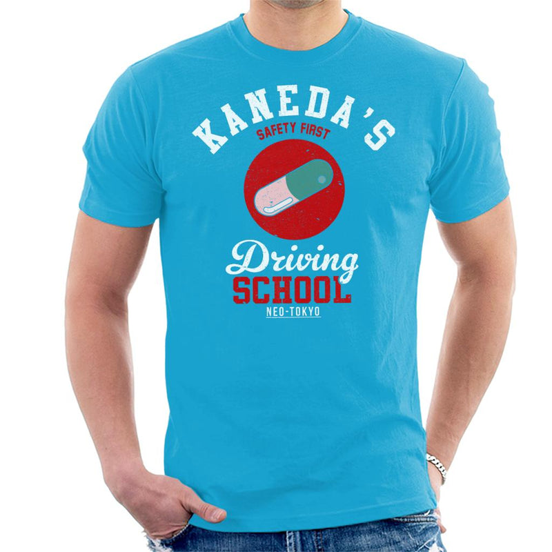 Academies Akira Kanedas Driving School Men's T-Shirt by Academies - Cloud City 7