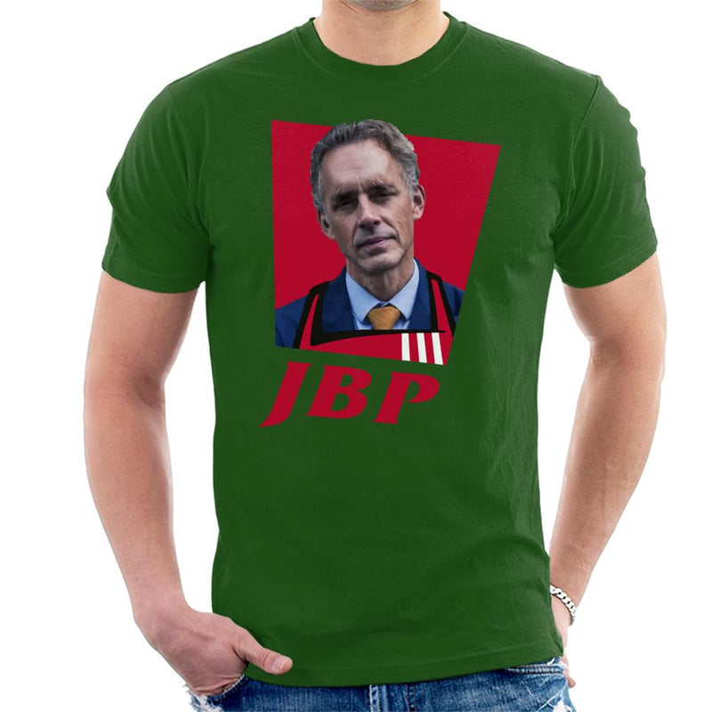 Jordan Peterson JBP KFC Logo Men's T-Shirt by Sassquatch - Cloud City 7