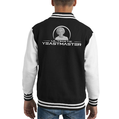 Mary Berry Ultimate Yeastmaster Kid's Varsity Jacket by Sassquatch - Cloud City 7