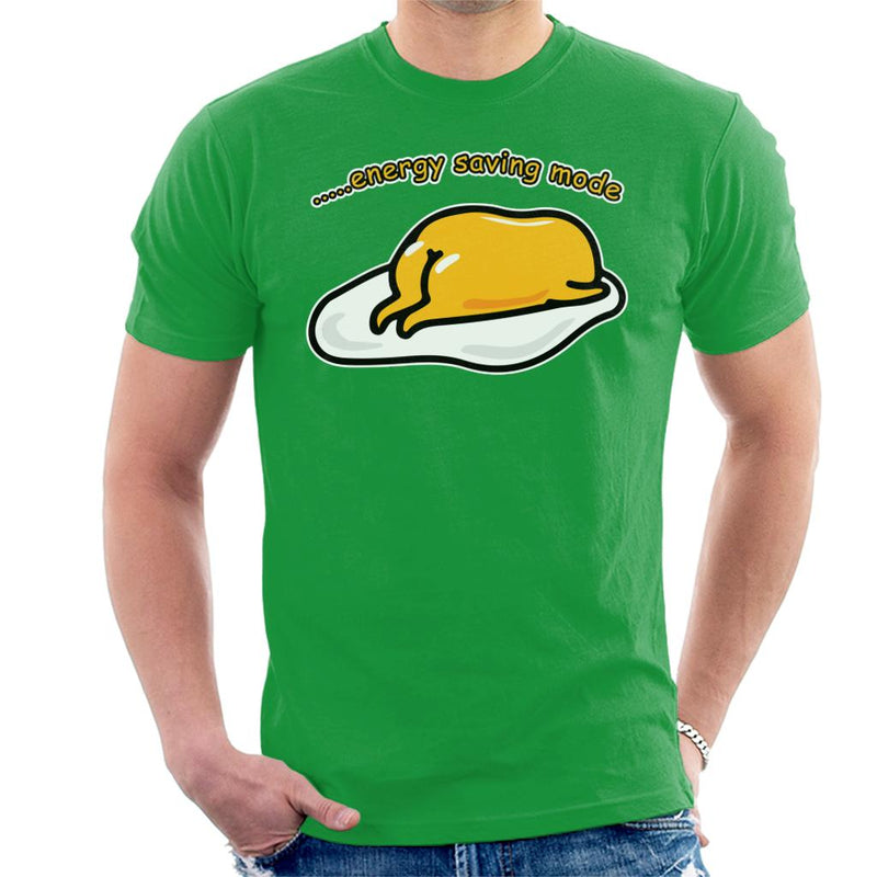 Gudetama Energy Saving Mode Men's T-Shirt by Nova5 - Cloud City 7