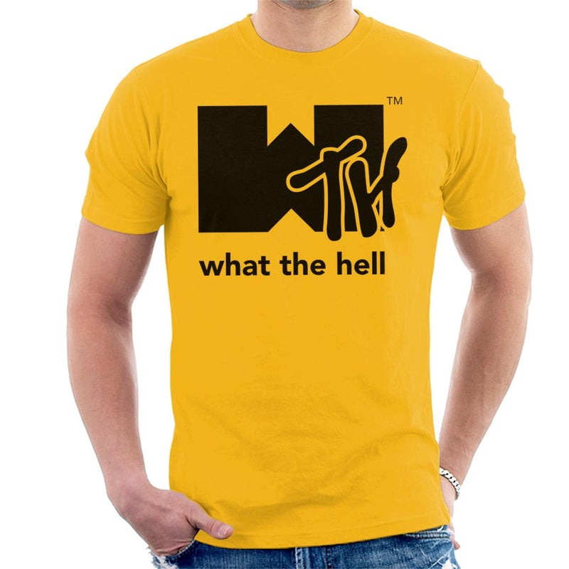 What The Hell Music Video Men's T-Shirt by Trapmonkie - Cloud City 7