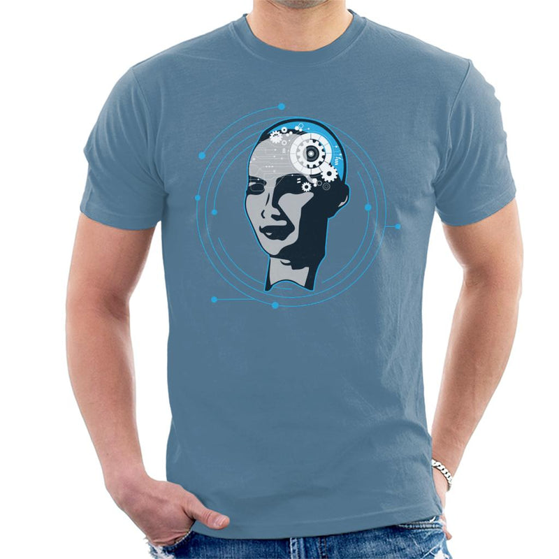 Sophia The Robot Men's T-Shirt by TrapMonkie - Cloud City 7