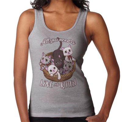 All You Need Is Love And Kitten Women's Vest