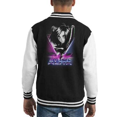 Battle Angel Alita Retro Kid's Varsity Jacket by Retro Freak - Cloud City 7