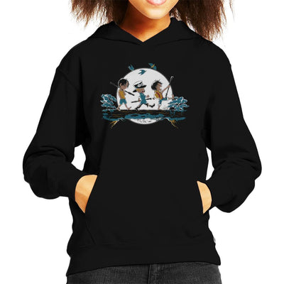 Halcyon Days One Piece Kid's Hooded Sweatshirt by Ang Dzu - Cloud City 7