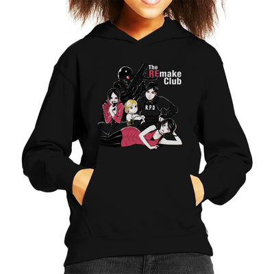 The RE Make Breakfast Club Resident Evil Kid's Hooded Sweatshirt by Ang Dzu - Cloud City 7