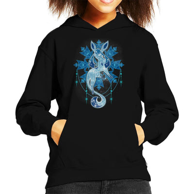 Pokemon Starry Sky Of Ice Kid's Hooded Sweatshirt by ChocolateRaisinFury - Cloud City 7