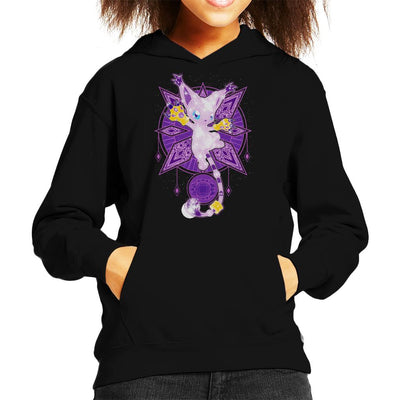 Digimon Starry Sky Of Light Kid's Hooded Sweatshirt by ChocolateRaisinFury - Cloud City 7