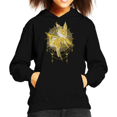 Pokemon Starry Sky Of Lightning Kid's Hooded Sweatshirt by ChocolateRaisinFury - Cloud City 7