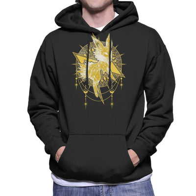 Pokemon Starry Sky Of Lightning Men's Hooded Sweatshirt by ChocolateRaisinFury - Cloud City 7