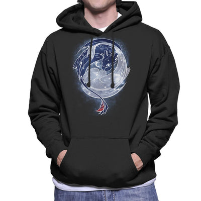 Toothless Starry Sky Of Dragons Men's Hooded Sweatshirt by ChocolateRaisinFury - Cloud City 7