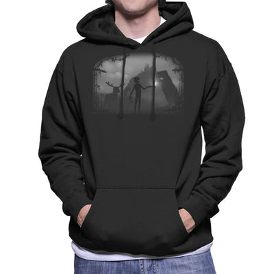 Limbo Alone Landscape Men's Hooded Sweatshirt by Crumblin Cookie - Cloud City 7