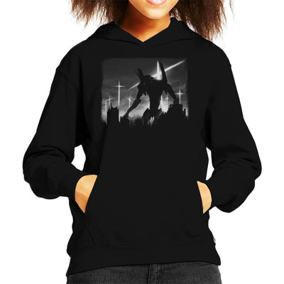 Neon Genesis Evangelion Test Unit Kid's Hooded Sweatshirt by Crumblin Cookie - Cloud City 7