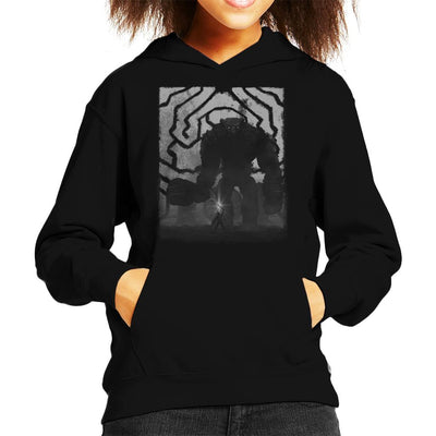 Shadow Of The Colossus Characters Kid's Hooded Sweatshirt by Crumblin Cookie - Cloud City 7