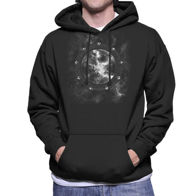 The Stargate Men's Hooded Sweatshirt by Crumblin Cookie - Cloud City 7