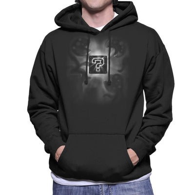Super Mario Mystery Box Men's Hooded Sweatshirt by Crumblin Cookie - Cloud City 7