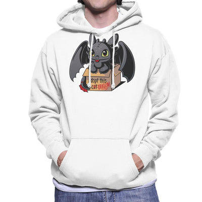 Toothless Adopt This Dragon Men's Hooded Sweatshirt by Typhoonic - Cloud City 7