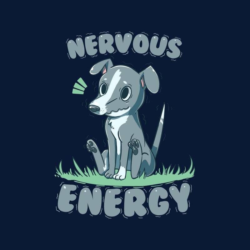 Nervous Energy Greyhound Dog Men's T-Shirt by TechraNova - Cloud City 7