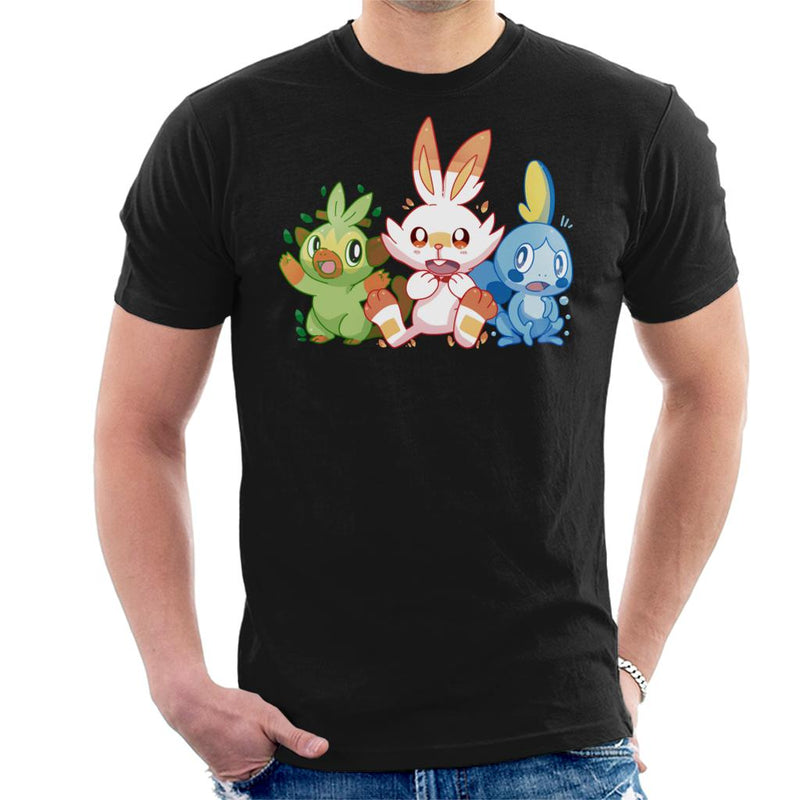 Pokemon Starters Scorbunny Sobble Grookey by TechraNova - Cloud City 7