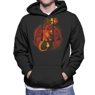 Pokemon Fire Charizard Men's Hooded Sweatshirt by Jozvoz - Cloud City 7