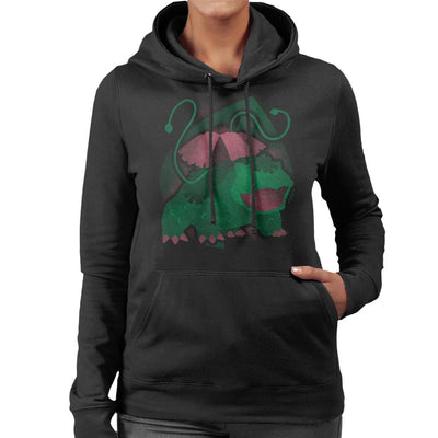 Pokemon Grass Venasaur Women's Hooded Sweatshirt by Jozvoz - Cloud City 7