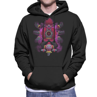 Pokemon Hoopa Pattern Men's Hooded Sweatshirt by Jozvoz - Cloud City 7