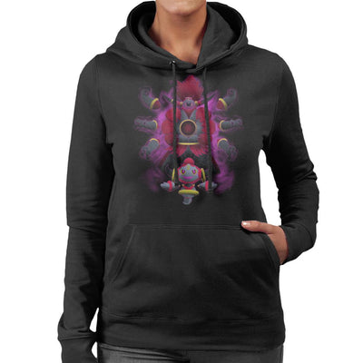 Pokemon Hoopa Pattern Women's Hooded Sweatshirt by Jozvoz - Cloud City 7