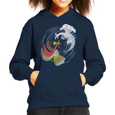 Pokemon Legendary Battle Kid's Hooded Sweatshirt by Jozvoz - Cloud City 7