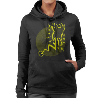 Pokemon Pika Women's Hooded Sweatshirt by Jozvoz - Cloud City 7