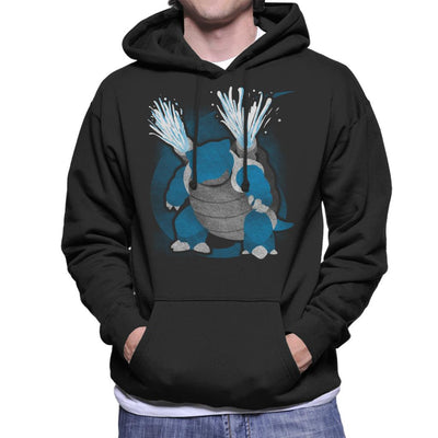 Pokemon Water Blastoise Men's Hooded Sweatshirt by Jozvoz - Cloud City 7