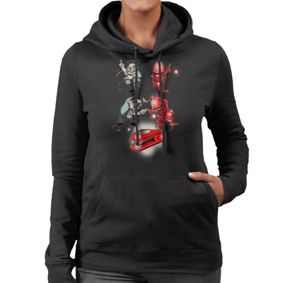 Miltons Revenge Office Space Women's Hooded Sweatshirt by Mannart - Cloud City 7