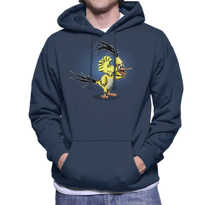 The Wrath Of Woodstock Peanuts Angry Birds Men's Hooded Sweatshirt by Mannart - Cloud City 7