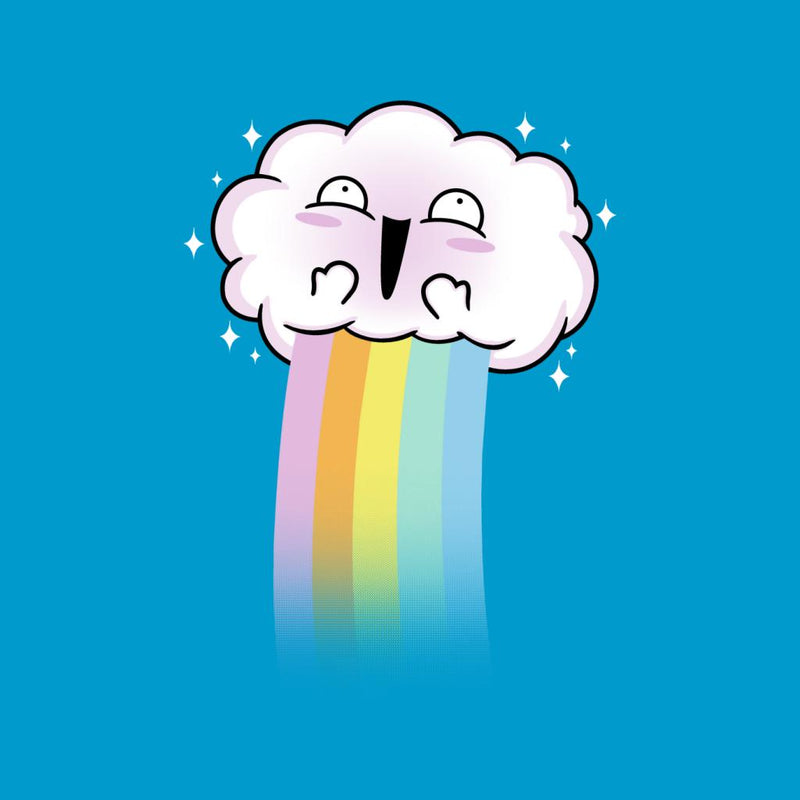 Kawaii Rainbow Cloud by Raffiti - Cloud City 7