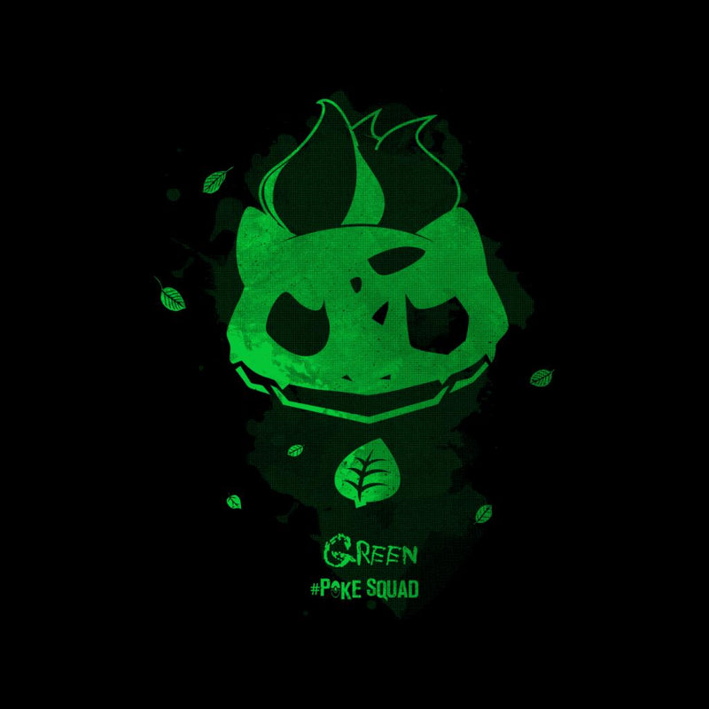 Green Poke Squad Bulbasaur Pokemon by Donnie - Cloud City 7