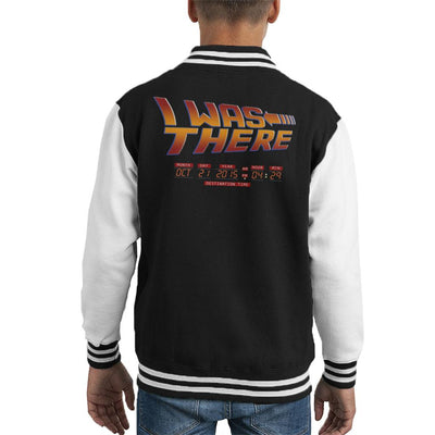 I Was There Back To The Future Kid's Varsity Jacket