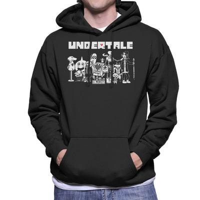Undertale X Mercy Friends Men's Hooded Sweatshirt by nicksoulart - Cloud City 7