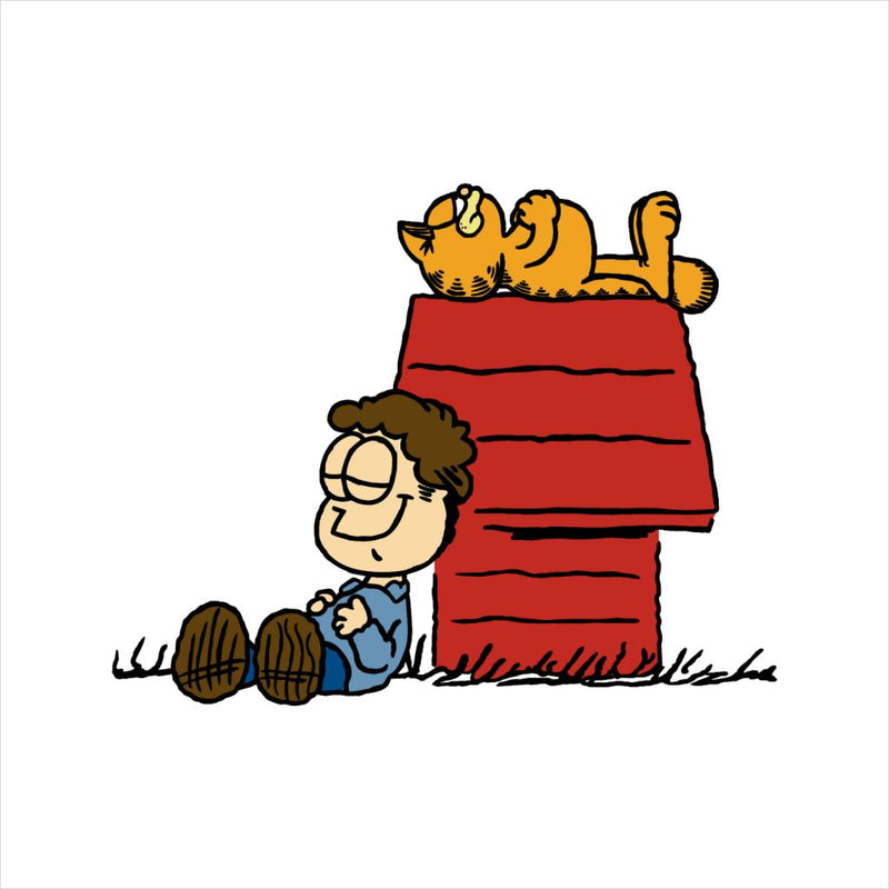 Jon Brown Garfield Snoopy Peanuts by Raffiti - Cloud City 7