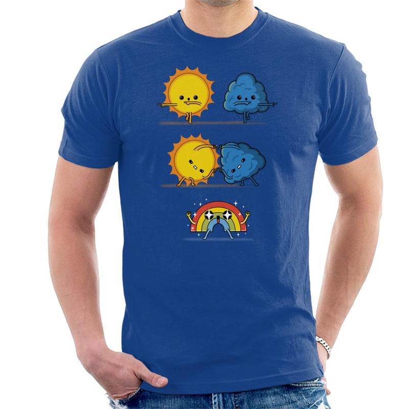 Meteorological Fusion Dragon Ball Z Weather Men's T-Shirt by Raffiti - Cloud City 7