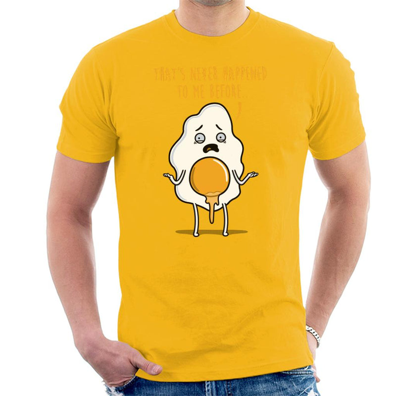 Premature Eggjaculation Men's T-Shirt by Raffiti - Cloud City 7