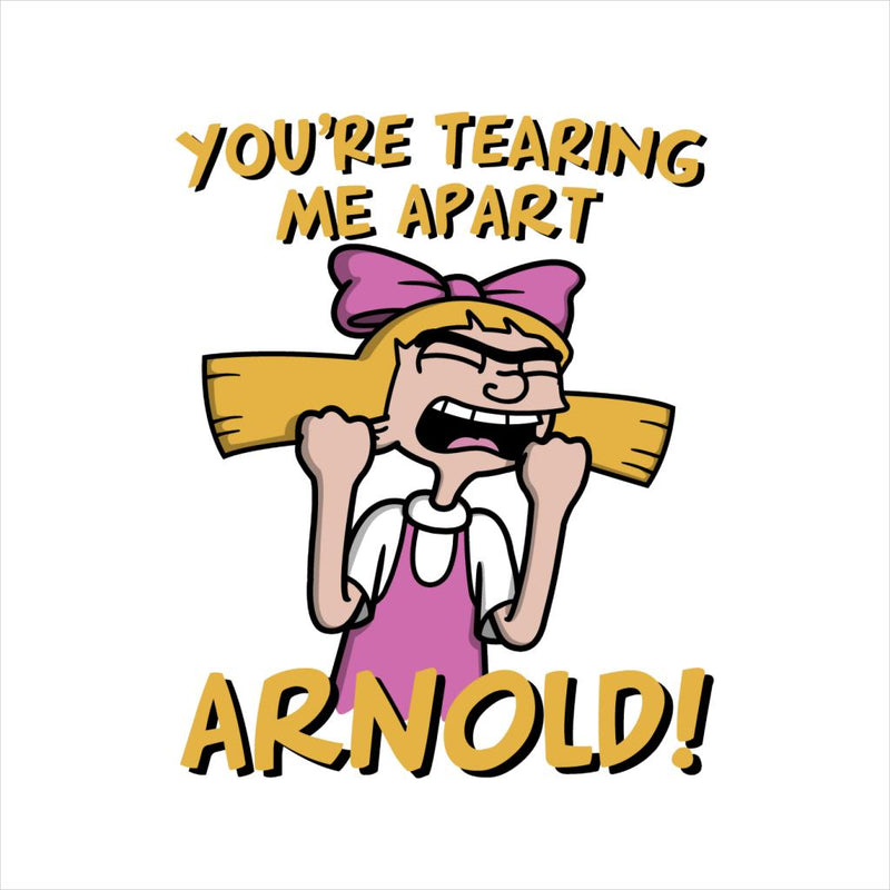 Hey Arnold Youre Tearing Me Apart Helga Room by Raffiti - Cloud City 7