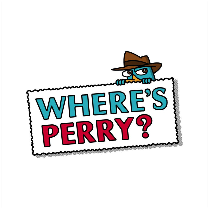 Wheres Perry The Platypus Phineas And Ferb Men's T-Shirt by Raffiti - Cloud City 7