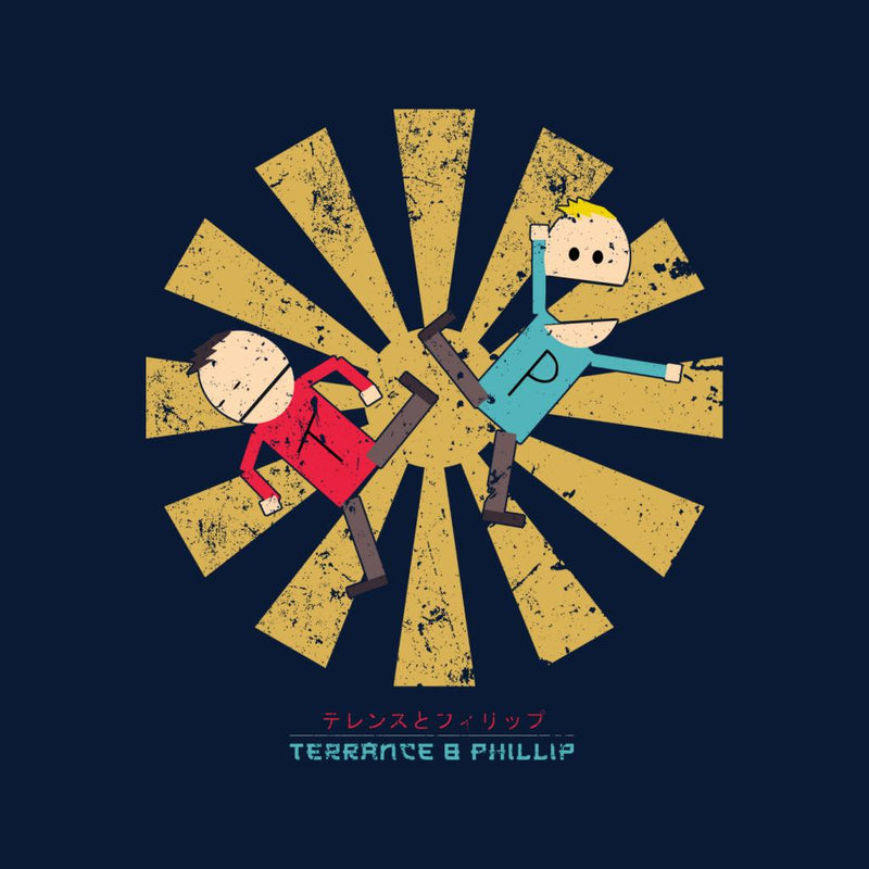 Terrance And Phillip Retro Japanese by Nova5 - Cloud City 7
