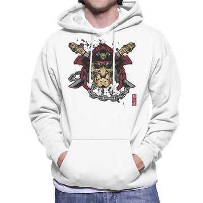 Killer Kabuto Hockey Mask Samuarai Men's Hooded Sweatshirt by AndreusD - Cloud City 7